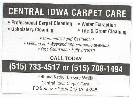 Central Iowa Carpet Care