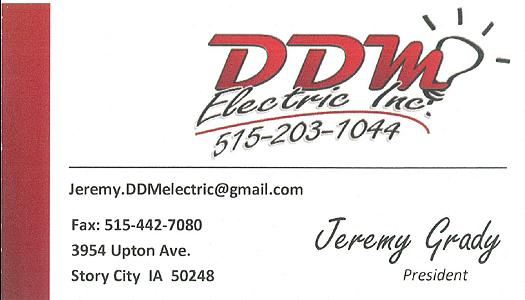 DDM Electric Inc