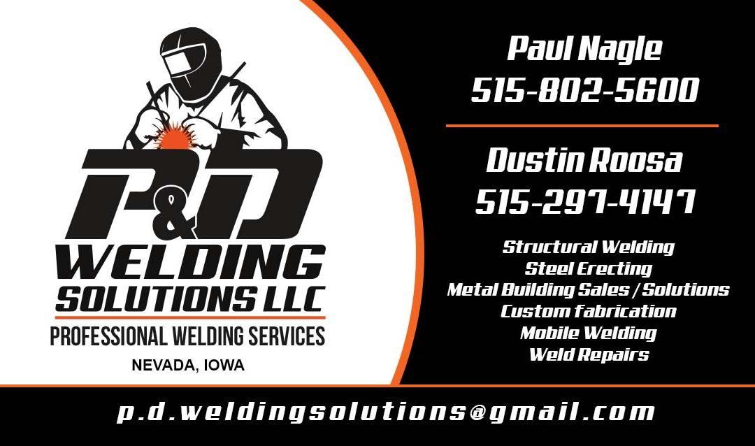 P&D Welding Solutions LLC